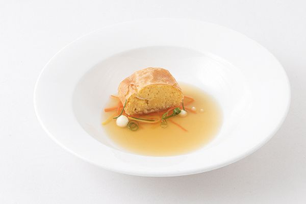 Tiefkühl Polentastrudel in Suppe von Caterline