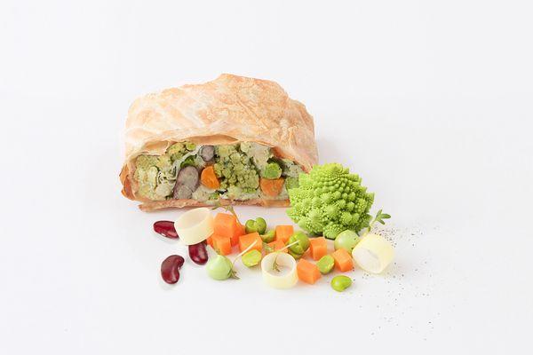 Veganer Gemüsestrudel tiefgekühlt von Caterline