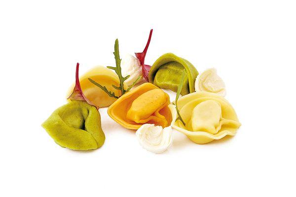 Tortelloni tricolore Käse tiefgekühlt von Caterline