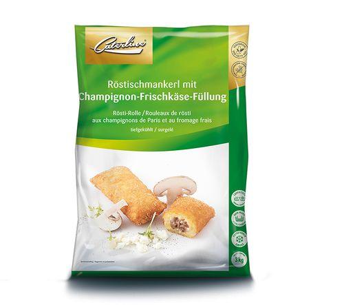 Röstischmankerl Champignons tiefgekühlt und verpackt von Caterline