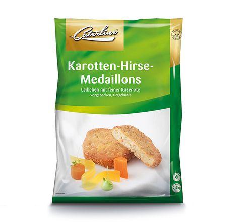 Karotten Hirselaibchen tiefgekühlt und verpackt von Caterline