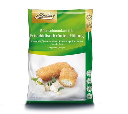 Röstischmankerl Frischkäse tiefgekühlt und verpackt von Caterline