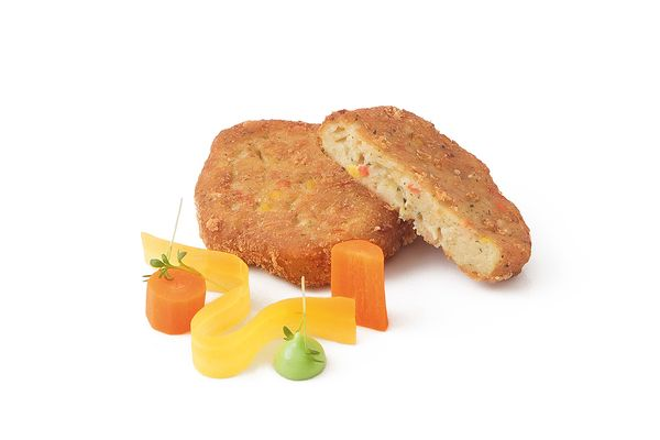 Karotten Hirse Laibchen tiefgekühlt von Caterline