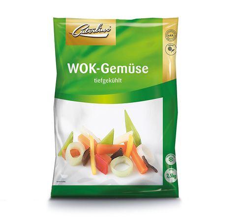 Wok Gemüse tiefgekühlt und verpackt von Caterline