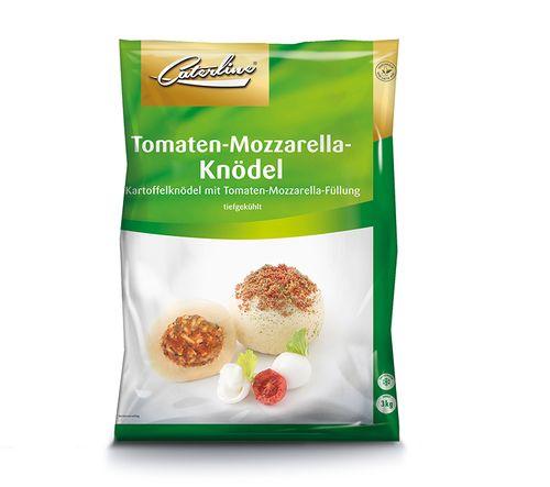 Tomaten Mozzarella Knödel tiefgekühlt und verpackt von Caterline